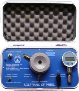 "Digital Pressure Chamber SF-Pres-100 (Type ""Scholander"")"