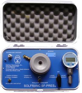 """Cámara  de presión digital SF-Pres-35  (Tipo """"Scholander"""")"""