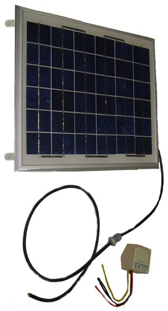 10W Solar panel kit and load control