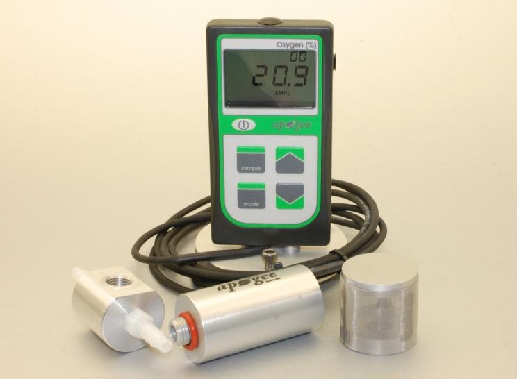 MO-200 Oxygen Sensor with Handheld Meter